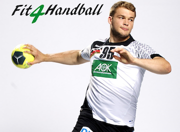 Screenshot Handball-App