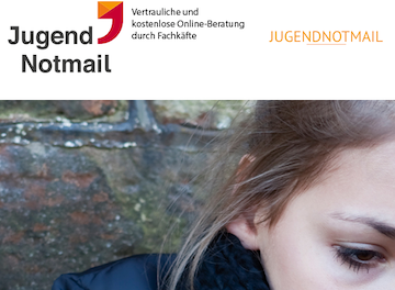 Screenshot: www.jugendnotmail.de - kq