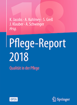 Cover: Pflege-Report 2018