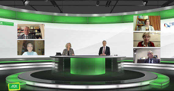 Screenshot: AOK im Dialog digital am 26.11.20